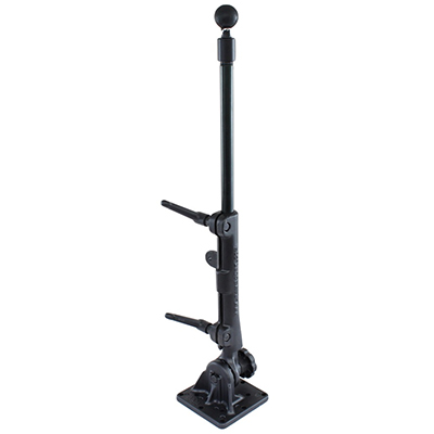 "RAM-101U-VE5 - RAM Pedestal Ball Base with 18"" Pipe"