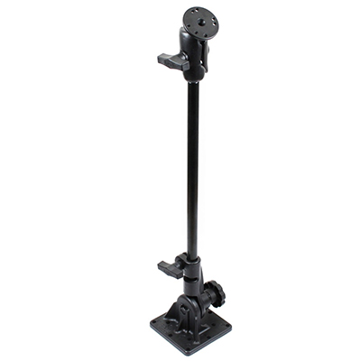 "RAM-101U-VE6 - RAM Pedestal Mount with 18"" Pipe and Round Plate"