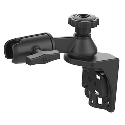 "RAM-109VS-4U - RAM Vertical 6"" Swing Arm Mount with Swivel Socket Arm"