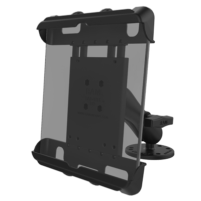 RAM-138-TAB17U - RAM Tab-Tite Large Tablet Holder with Flat Surface Mount