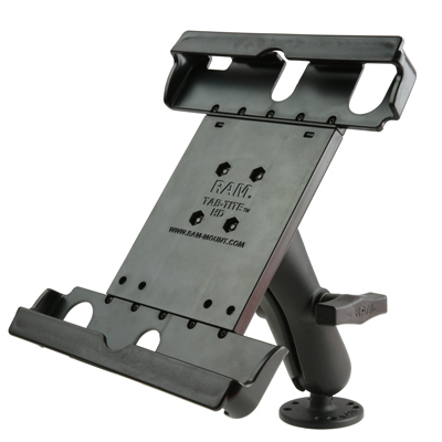 "RAM-138-TAB20U - RAM Tab-Tite 9""-10.5"" Tablet Holder with Flat Surface Mount"