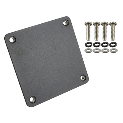 "RAM-202-3636BU - RAM 3.6"" x 3.6"" Backing Plate with Hardware"