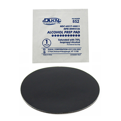 "RAM-202PSAU - RAM 2.43"" Diameter Double Sided Adhesive Pad"