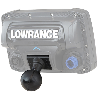 RAM-202U-LO11 - RAM Quick Release Ball Adapter for Lowrance Elite 5 & 7 Ti + More
