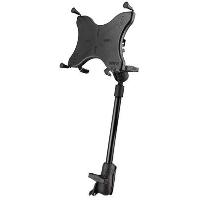 "RAM-238-WCT-9-UN9 - RAM X-Grip Wheelchair Seat Track Mount for 9""-10"" Tablets"