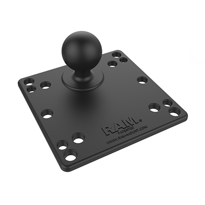 RAM-246-AD1U - RAM 100x100mm VESA Plate with Ball