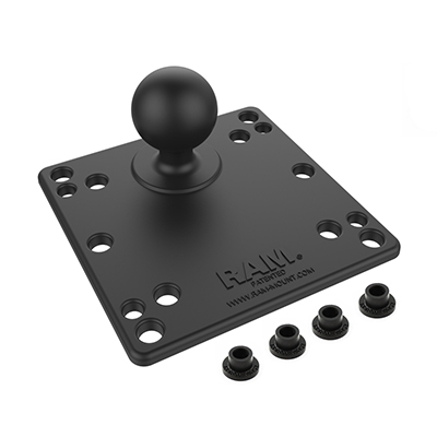 RAM-246U - RAM 100x100mm VESA Plate with Ball