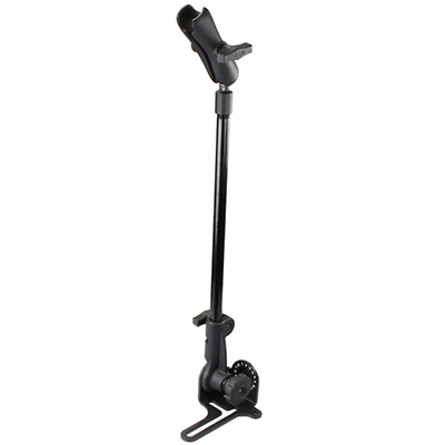 "RAM-316-HD-18-NBU - RAM Pod HD Vehicle Mount with 18"" Aluminum Rod and Double Socket Arm"