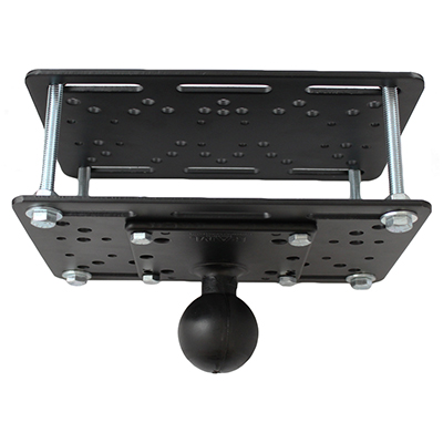 RAM-335-D-246 - RAM Lift Truck Overhead Guard Base with Ball