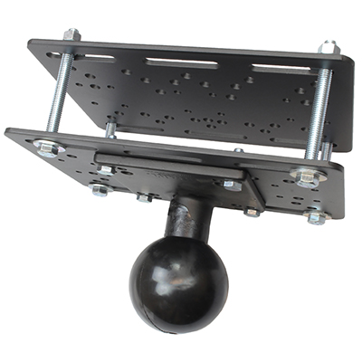 RAM-335-E-246 - RAM LIFT TRUCK MOUNTING PLATE WITH BASE