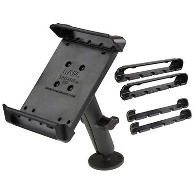 RAM-B-101-C-TAB-SMU - RAM Tab-Tite Drill-Down Double Ball Mount for Small Tablets