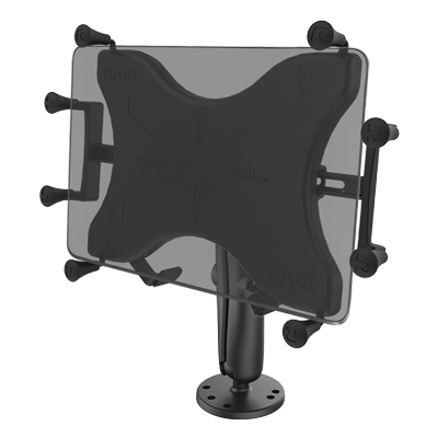 RAM® X-Grip® Drill-Down Double Ball Mount for 9