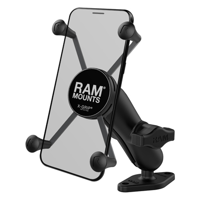 RAM-B-102-UN10U - UNPKD RAM X-GRIP HOLDER W DBL DIAMOND BASE