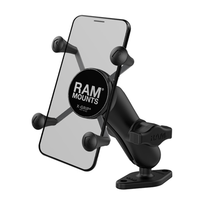 RAM-B-102-UN7U - UNPKD RAM X-GRIP HOLDER W DBL DIAMOND BASE