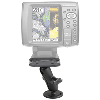 RAM-B-107U - RAM Fishfinder Mount for Humminbird Devices