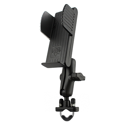 RAM-B-120-231U - RAM U-Bolt Rail Mount with Universal Handheld Holder