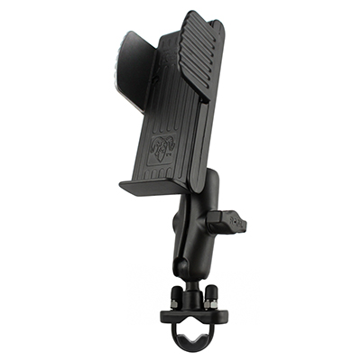 RAM-B-120-231ZU - RAM U-Bolt Rail Mount with Universal Handheld Holder