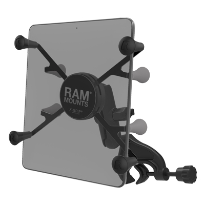 "RAM-B-121-UN8U - RAM X-Grip Mount with Yoke Clamp Base for 7""-8"" Tablets"