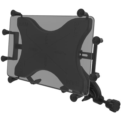 "RAM-B-121-UN9U - RAM X-Grip Mount with Yoke Clamp Base for 9""-10"" Tablets"