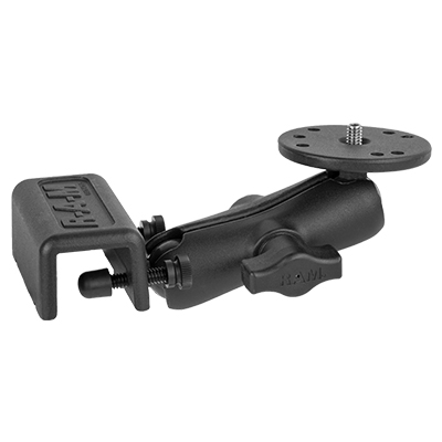 RAM-B-127U - RAM Glare Shield & Window Scope Camera Mount