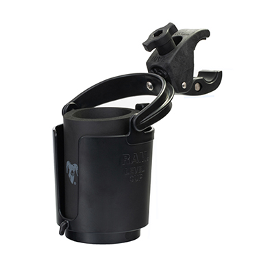 RAM-B-132-400U - RAM Level Cup 16oz Drink Holder with RAM Tough-Claw Mount
