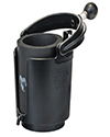 RAM-B-132BU - RAM Self-Leveling Cup Holder with Koozie