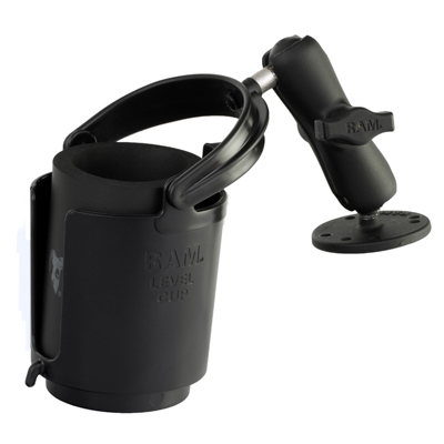 RAM-B-132U - RAM Level Cup 16oz Drink Holder with Drill-Down Base
