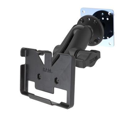 RAM-B-138-GA35-225BU - RAM Drill-Down Mount with Cradle & Plate for Garmin nuvi 1400 Series