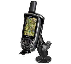 RAM-B-138-GA41U - RAM Drill-Down Mount for Garmin Astro 320, GPSMAP 62 & 64 Series
