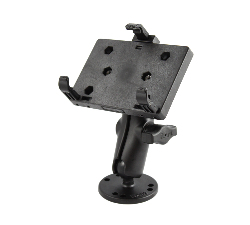 RAM-B-138-PD2U - RAM Double Ball Drill-Down Mount with Universal Spring Loaded Holder