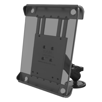 RAM-B-138-TAB3U - RAM Tab-Tite Drill-Down Mount for Apple iPad 1-4 + More