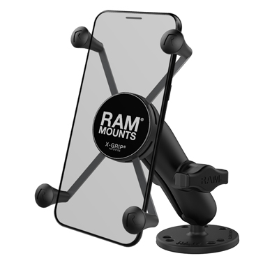 RAM-B-138-UN10 - RAM X-Grip Large Phone Mount with Drill-Down Base