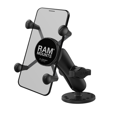 RAM-B-138-UN7U - RAM X-Grip Phone Mount with Drill-Down Base