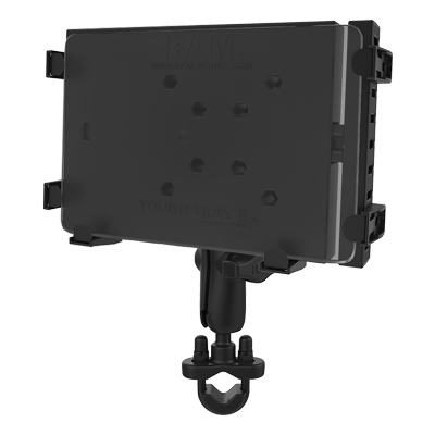 RAM-B-149Z-234-6U - RAM Tough-Tray Tablet Mount with U-Bolt Rail Base