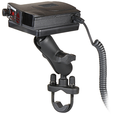 RAM-B-149Z-300-1U - RAM Power Plate III Radar Detector Mount with Handlebar U-Bolt Base