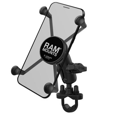 RAM-B-149Z-A-UN10U - RAM X-Grip Large Phone Mount with Handlebar U-Bolt Base