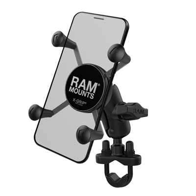 RAM-B-149Z-A-UN7U - RAM X-Grip Phone Mount with Handlebar U-Bolt Base