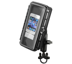 RAM-B-149Z-AQ1U - RAM Aqua Box with Handlebar U-Bolt Mount for Large Devices