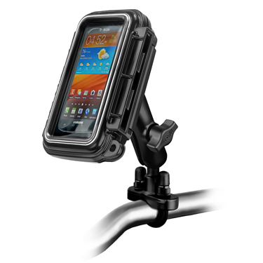 RAM-B-149Z-AQ2U - RAM Aqua Box with Handlebar U-Bolt Mount for Medium Devices