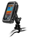 RAM-B-149Z-AQ2U - RAM Handlebar Rail Mount with Zinc Coated U-Bolt Base & Sealed Enclosure Medium Size AQUA BOX®