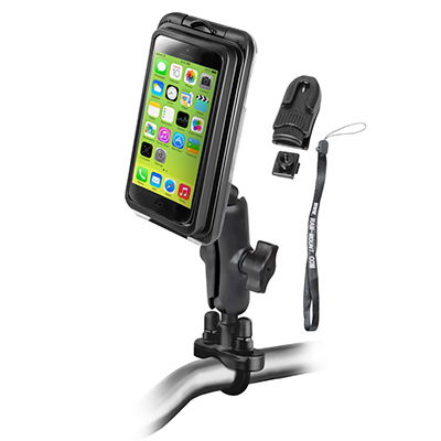 RAM-B-149Z-AQ7-2-I5 - RAM Aqua Box Pro 20 with Handlebar U-Bolt Mount & Accessories