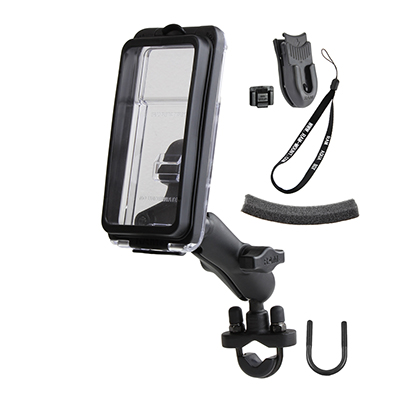 RAM-B-149Z-AQ7-2U - RAM Aqua Box Pro 20 with Handlebar U-Bolt Mount & Accessories