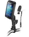 RAM-B-149Z-AQ7-2U - RAM Handlebar Rail Mount with AQUA BOX® Pro 20 Case, CRADLE CLIP, BELT CLIP, BELT CLIP BUTTON and LANYARD for the iPhone 5, 4 & 3 WITH OR WITHOUT CASE, SKIN OR SLEEVE