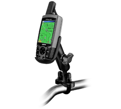 RAM-B-149Z-GA12U - RAM Handlebar U-Bolt Mount for Garmin GPSMAP 60 Series + More