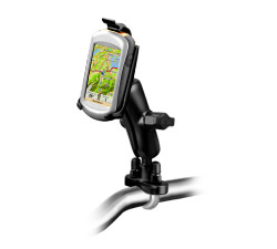 RAM-B-149Z-GA31U - RAM Handlebar U-Bolt Double Ball Mount for Garmin Oregon Series + More
