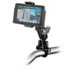 RAM-B-149Z-GA39U - RAM Handlebar U-Bolt Double Ball Mount for Garmin nuvi 3000 Series