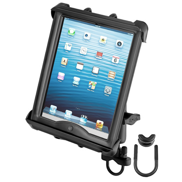 RAM-B-149Z-TAB8U - RAM Tab-Tite Handlebar U-Bolt Mount for Large Tablets with Cases