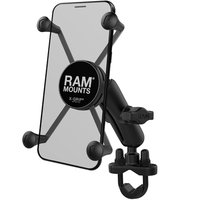 RAM-B-149Z-UN10U - RAM X-Grip Large Phone Mount with Handlebar U-Bolt Base