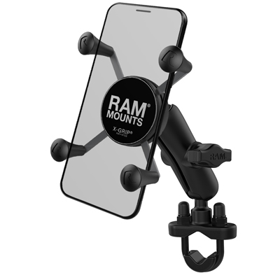 RAM-B-149Z-UN7U - RAM X-Grip Phone Mount with Handlebar U-Bolt Base