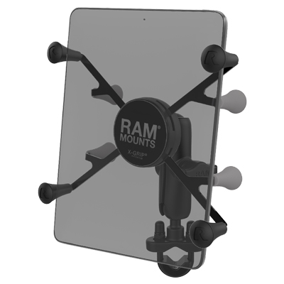 "RAM-B-149Z-UN8U - RAM X-Grip Handlebar U-Bolt Mount for 7""-8"" Tablets"